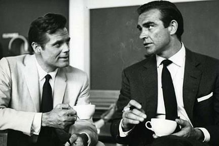 *Sean Connery and Jack Lord*