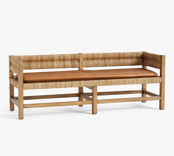 Murphy Entry Bench Cushion Potterybarn Mypotterybarn Budget Furniture Living Room Decor On A Budget Small Spaces