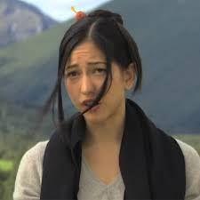ソノヤ・ミズノのエクスマキナ出演時のインタビュー画像