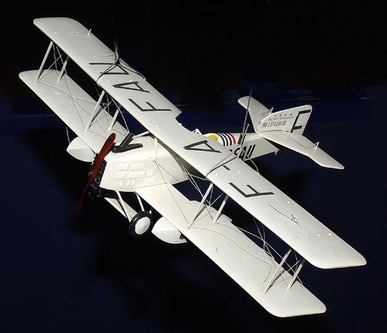 Avion Breguet Modèle réduit 1919 © L'Adresse Musée de La Poste / La Poste, DR