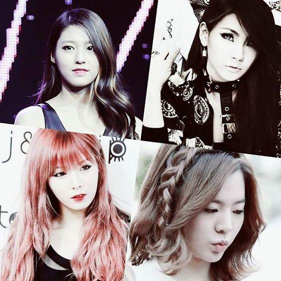 Kpop girl hair styles