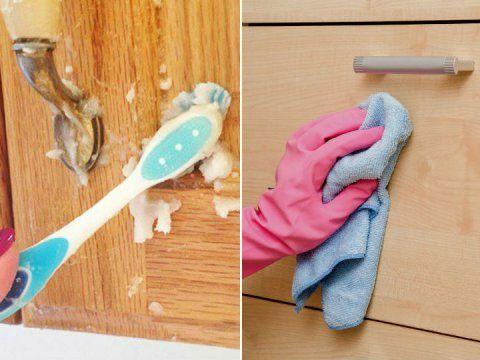 Aprende A Limpiar La Grasa De Los Muebles De Tu Cocina De Una Forma Sencilla Limpiar Muebles De Madera Como Limpiar La Madera Limpiar Madera