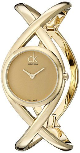 Calvin Klein Women's K2L23509 Enlace Analog Display Swiss Quartz Gold Watch Calvin Klein http://www.amazon.com/dp/B005GBVKMU/ref=cm_sw_r_pi_dp_Lkaewb1Z62STF