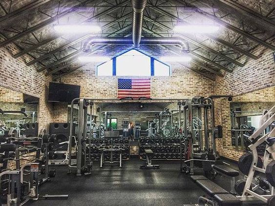 Iron paradise dwayne johnson s gym yes please a girl