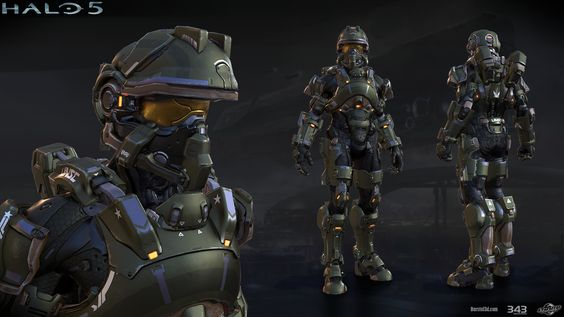 ArtStation - Halo 5: Foehammer armor, Mark von Borstel