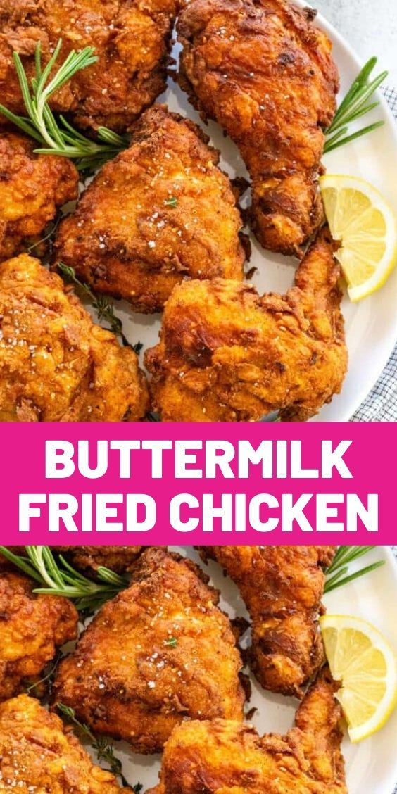 Fried Chicken Breast Recipe With Buttermilk