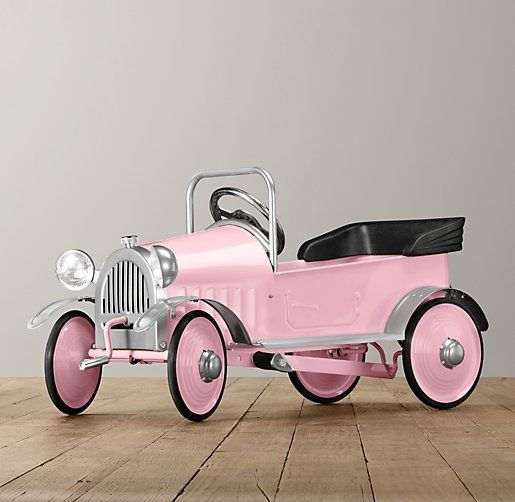 pink carriage pedal car riding toys restoration hardware baby child breast cancer pink auto pinterest pedal car restoration hardware baby and