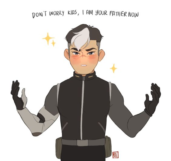 shiro, official father of team voltron