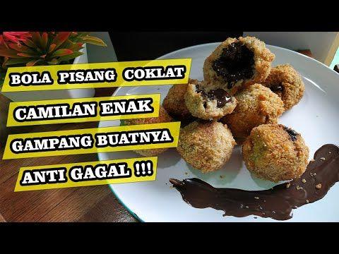 Resep Bola Pisang Coklat Gampang Buatnya Anti Gagal Enak Banget Youtube Pisang Makanan Cemilan