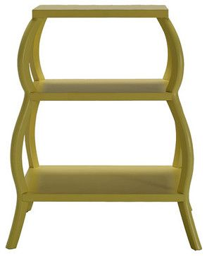 Curvee Shelf - eclectic - nightstands and bedside tables - other metro - houseeclectic.com