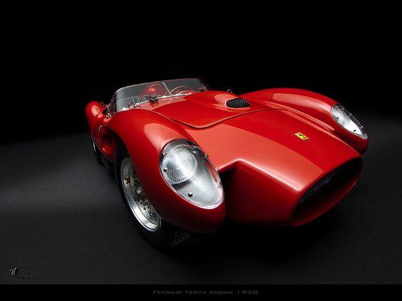 1958 Ferrari Testa Rossa hermoso hermoso