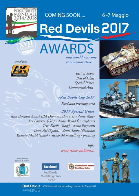 2017 - red devils -awards and wwi commemoration, may 6, 9 a.m.-6