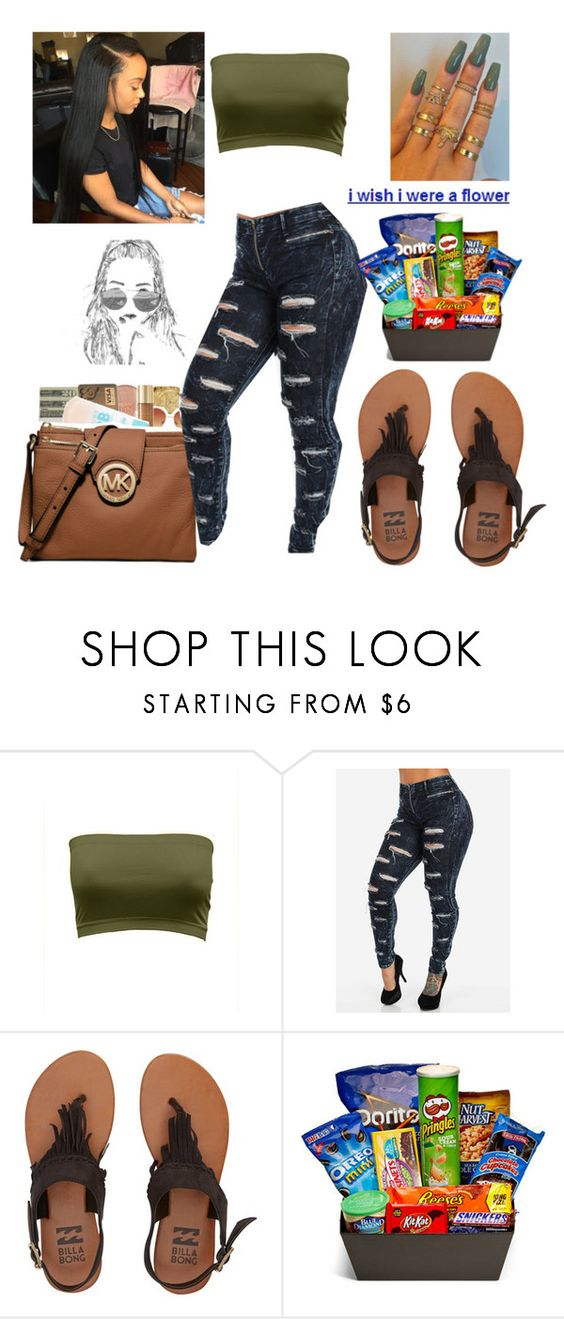 """Were A Flower 🍀"" by imghtbeeblue ❤ liked on Polyvore featuring Billabong and Junk Food Clothing"