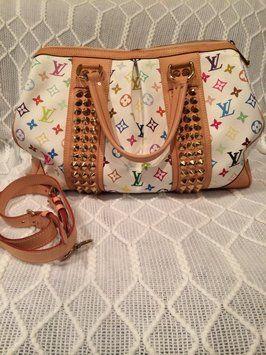 Louis Vuitton Multicolor Courtney Gm White Bag - Satchel $2,725