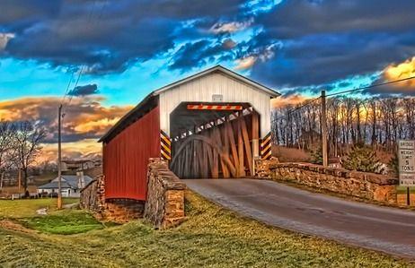 Weaver's Mill Bridge, East Earl, PA #2