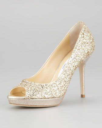 Luna Peep-Toe Pump by Jimmy Choo at Neiman Marcus.$695.00  JC runs small Suggest ordering 1/2 size larger than you normally wear