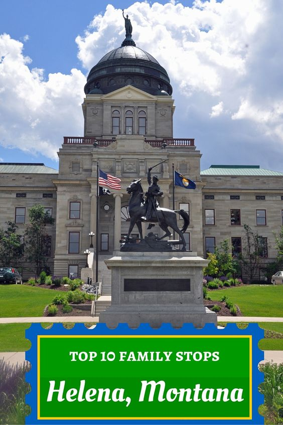 When a family of 14 shares their top 10 family stops in Helena, Montana, pay attention. This traveling RV family loves dishing about their home state.
