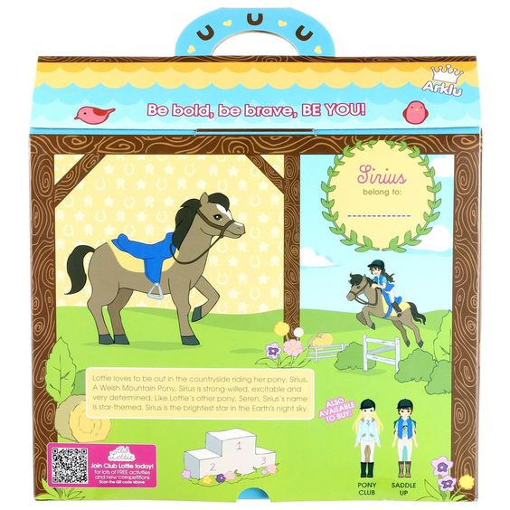 Sirius the Welsh Mountain Pony for Lottie Dolls – Lottie Dolls - UK Store