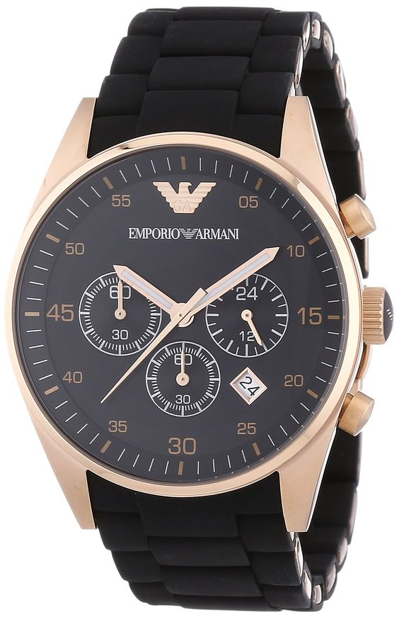 EMPORIO ARMANI Sportivo Watch Chronograph AR5905 - #uhr #herrenuhr #armani #chronograph #armbanduhr - http://uhrify.de/uhrenmarken/armani-uhren-herren/