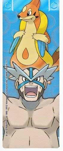 Pokemon Center 2012 Sinnoh Leaders Tournament Floatzel Wake Bookmark