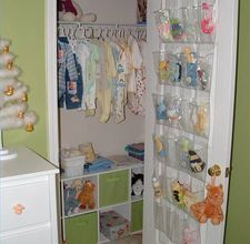 Baby closets babies clothes and dream baby on pinterest - How to organize baby room ...
