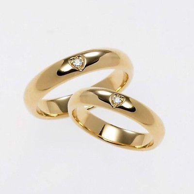 FEDI Nuziali ANELLI oro 18KT DIAMANTI 0,10 carati INCISIONE GRATUITA in Orologi e gioielli, Gioielli di lusso, Anelli   eBay