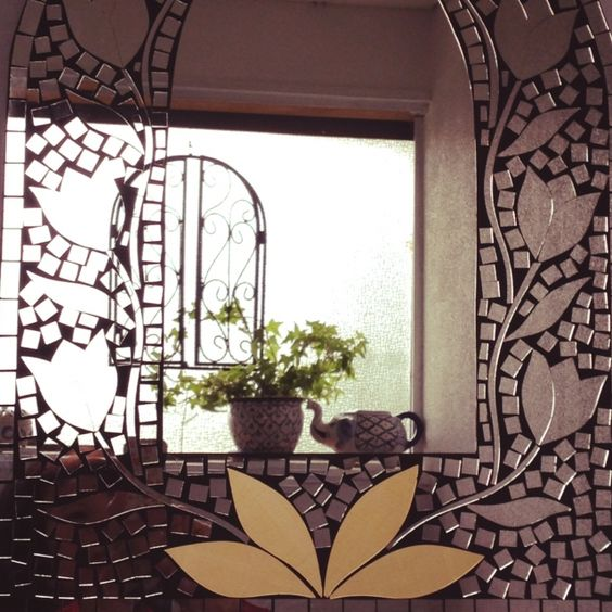 tamiさんの、観葉植物,アイビー,アジアン雑貨,アイアン,鏡,Bathroom,のお部屋写真