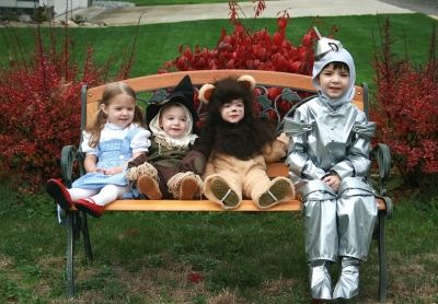 Wizard Of Oz Brother and Sister Children's Costumes