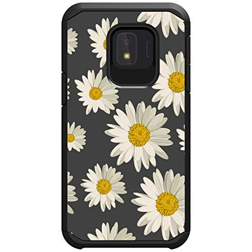 Miniturtle Compatible With Samsung Galaxy J2 Core J2 Dash J2 Pure J2 Shine J2 2019 Phone Protector Hybrid Hard Shell Rugged Case Cover Defender Daisy Pure Products Samsung Galaxy Galaxy