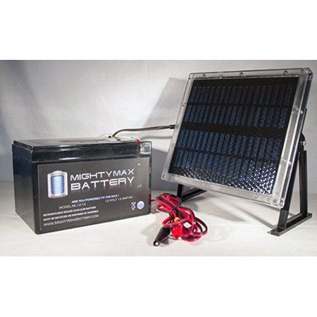 12v 12ah Battery For Zida 500 Wet 36vf 12v Solar Panel Walmart Com In 2020 12v Solar Panel Solar Power Diy Solar Panels