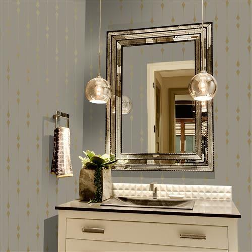Gold Leaf Diamond Removable Wallpaper Removable Wallpaper Metallic Gold Leaf Modern Wallpaper