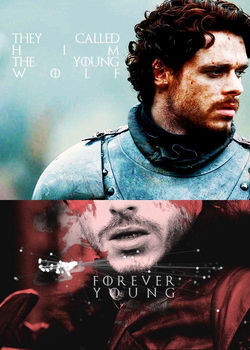 Robb Stark ~ Game of Thrones Fan Art