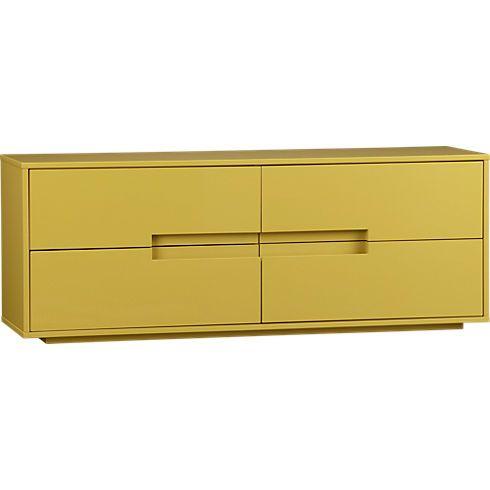 latitude grellow low dresser in bedroom furniture cb2 bedroom furniture cb2