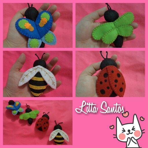 Bichinhos para lembrancinhas Encomendas por: E-mail: e_artesanato@hotmail.com Whatsapp: (11) 9 8810-5602 Loja: littasantos.elo7.com.br Blog: littasantos.blogspot.com.br Facebook: facebook.com/e.artesanato.by.litta.santos