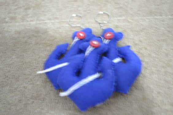 Chaveiros ancoras para um pequeno marinheiro =D