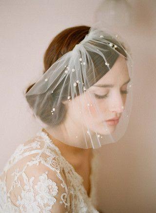 unique bridal veil