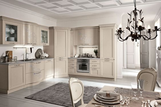 Spar Prestige line: a stylish kitchen and studied in detail, to ...