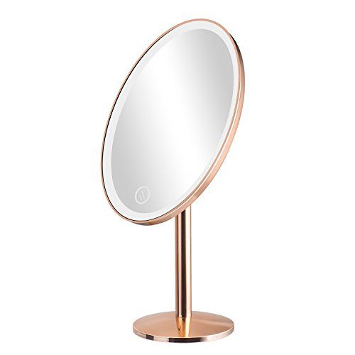 Elgood Lighted Vanity Makeup Mirror With 25 Led Lights To Https Www Amazon Com Dp B078plgpn6 Ref Makeup Vanity Makeup Mirror Mirror With Lights