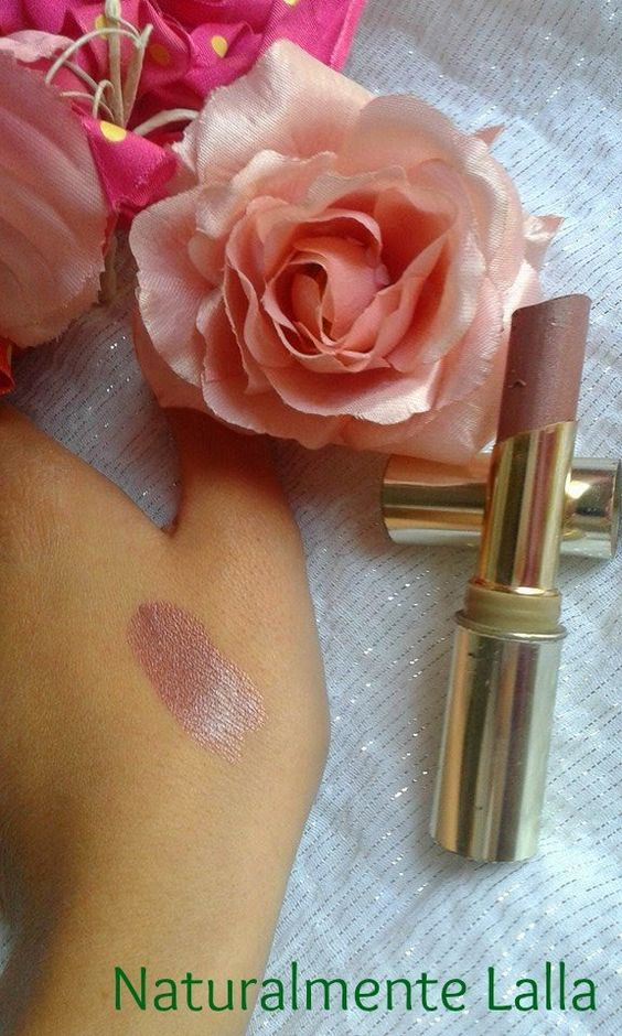 Naturalmente Lalla: Rossetto color rosa antico-malva