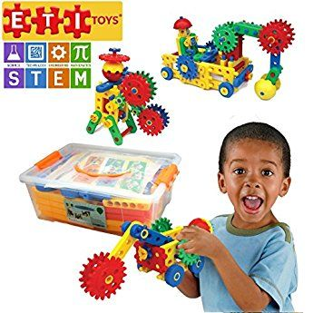 109 Piece Educational Engineering Building Set For 4 5 6 7 Year Old Boys Girls Fun Learning Construct Stem Toys Educational Toys For Kids Preschool Kids