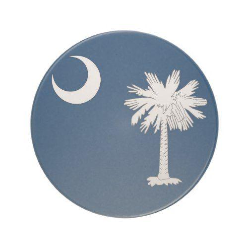 Coaster With Flag Of The South Carolina Usa Zazzle Com South Carolina State Flag South Carolina South Carolina Flag