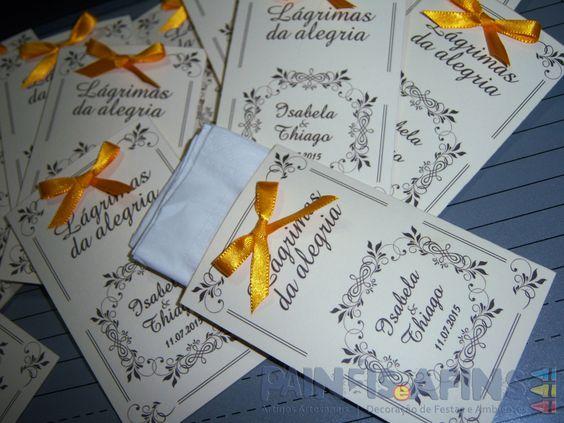 Lágrimas da Alegria #papelariapersonalizada #casamentos