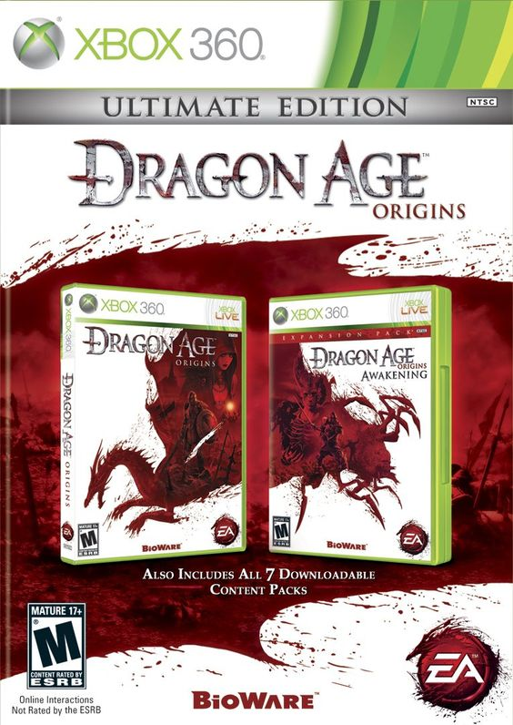 Amazon.com: Dragon Age Origins: Ultimate Edition - Xbox 360. Coming my way! $30 for everything is less expensive than downloading just the DLC.