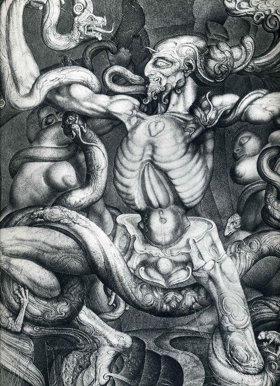 anti-laokoon-1965,Ernst Fuchs