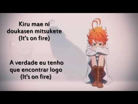 The Promised Neverland Op Touch Off Lyrics Traducao Pt Br Youtube Anime Songs Album Songs Lyrics