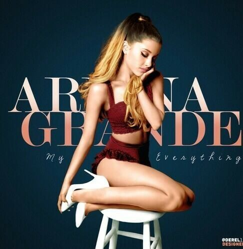"""redesigned cover art for Ariana Grande's """"My Everything"""""""