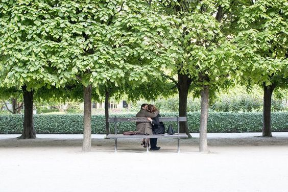 Paris Photography, Lovers in Palais Royal, Paris France, Paris Gardens, Paris decor, Nature, Spring