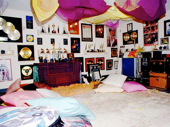 """""""SO HERE WE ARE IN MY PAISLEY CRIB"""" /// Prince's famous home and recording studio is now a shrine to the legendary singer ... packed with tons of memorabilia from his career."""