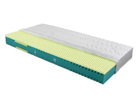 Aktivní pěnová matrace Cellpur - Andrea Clima vyrobená ze studené pěny Cellpur s vrstvou líné pěny, která dobře odvádí vlhkost a odpuzuje roztoče. / Active foam mattress Cellpur - Andrea Clima made of cold Cellpur foam with a layer of lazy foam witch a moisture wicking and repel dust mites.  #foam #mattress #penova #matrace #cellpur #jmp #mites #roztoci #lazy #lina