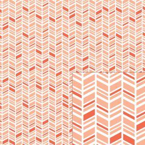 herringbone silhouette pattern